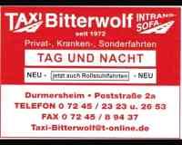 Taxi-Bitterwolf