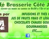 """Côté Jardin """" Café Brasserie """""""