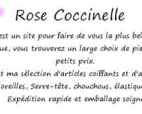 Rose Coccinelle