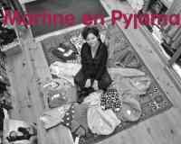 Martine en Pyjama