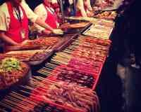 Wangfujing Food Alley (王府井小吃街 Wangfujing Food Alley)