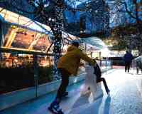Ice Rink Canary Wharf Ice Skating