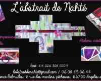 L'abstrait de Nahté, Toiles abstraites&ateliers créatifs enfants