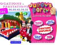 Jumpy's Party Service de Location/Prestation/Animation