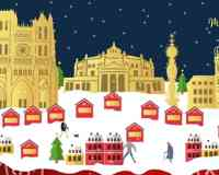 Le Marché de Noël d'Amiens
