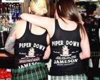 Piper Down an Olde World Pub